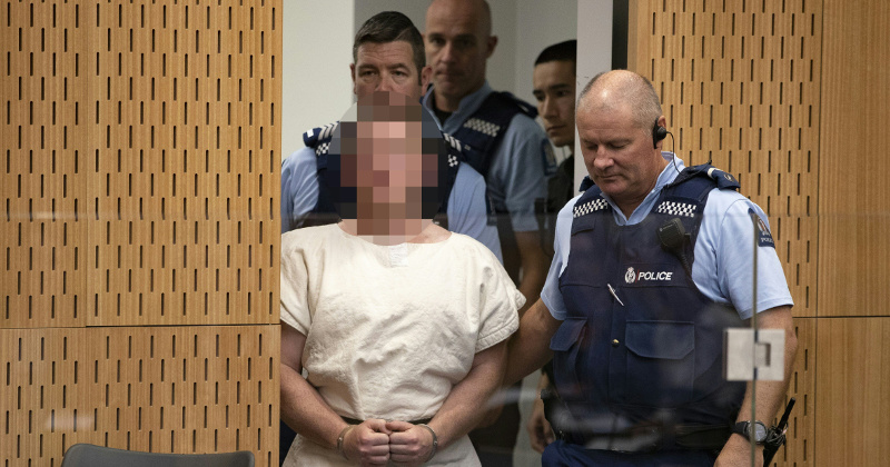 NZ Massacre Suspect Fires Lawyer, Wants to Represent Self in Court