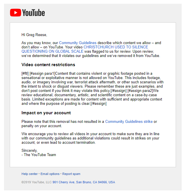 See The Banned Christchurch Video Here
