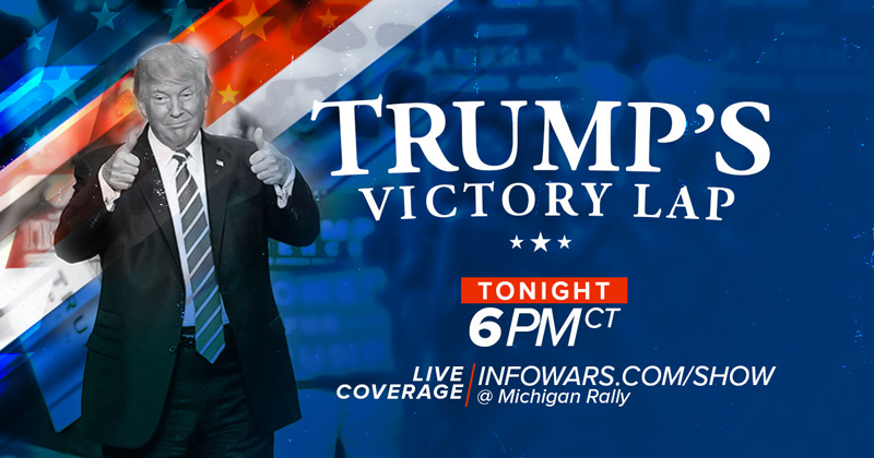 Watch: President Trump Takes Victory Lap With MAGA Rally in Grand Rapids, Michigan