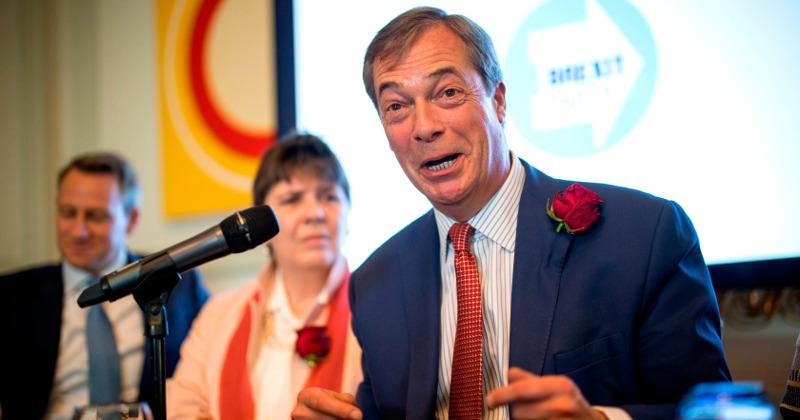 Farage's Brexit Party Set for Landslide Support