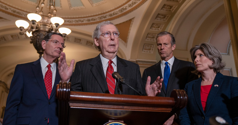 McConnell Vows to Fill Any Supreme Court Vacancy in 2020