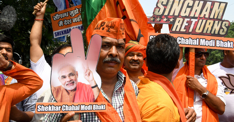 Indian PM Stuns Opposition With 'Massive' Election Win
