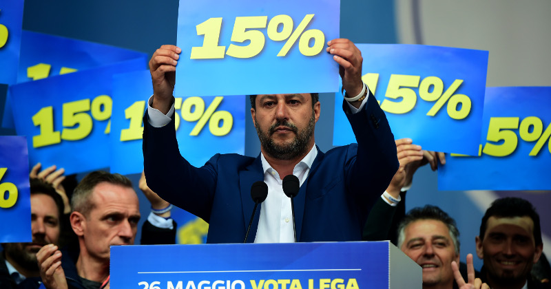 Salvini Vows to Change EU Tax Rules