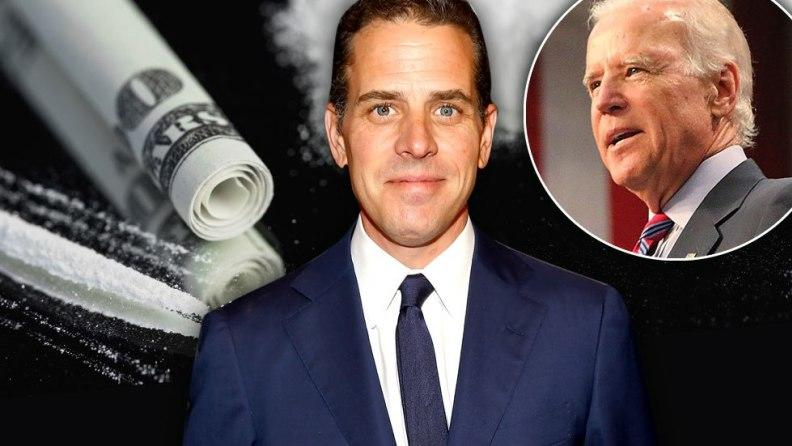 Crack Pipe, IDs, And Badge Found In Hunter Biden Rental Car