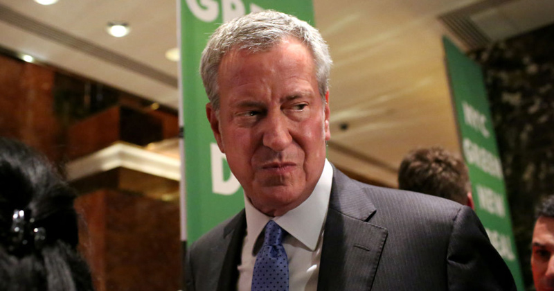 NYC Mayor Bill de Blasio Viciously Mocked on New York Post Cover