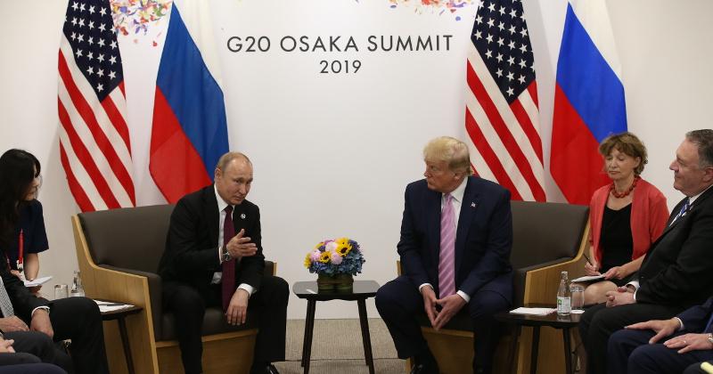 Trump, Putin Meet at G20 Summit