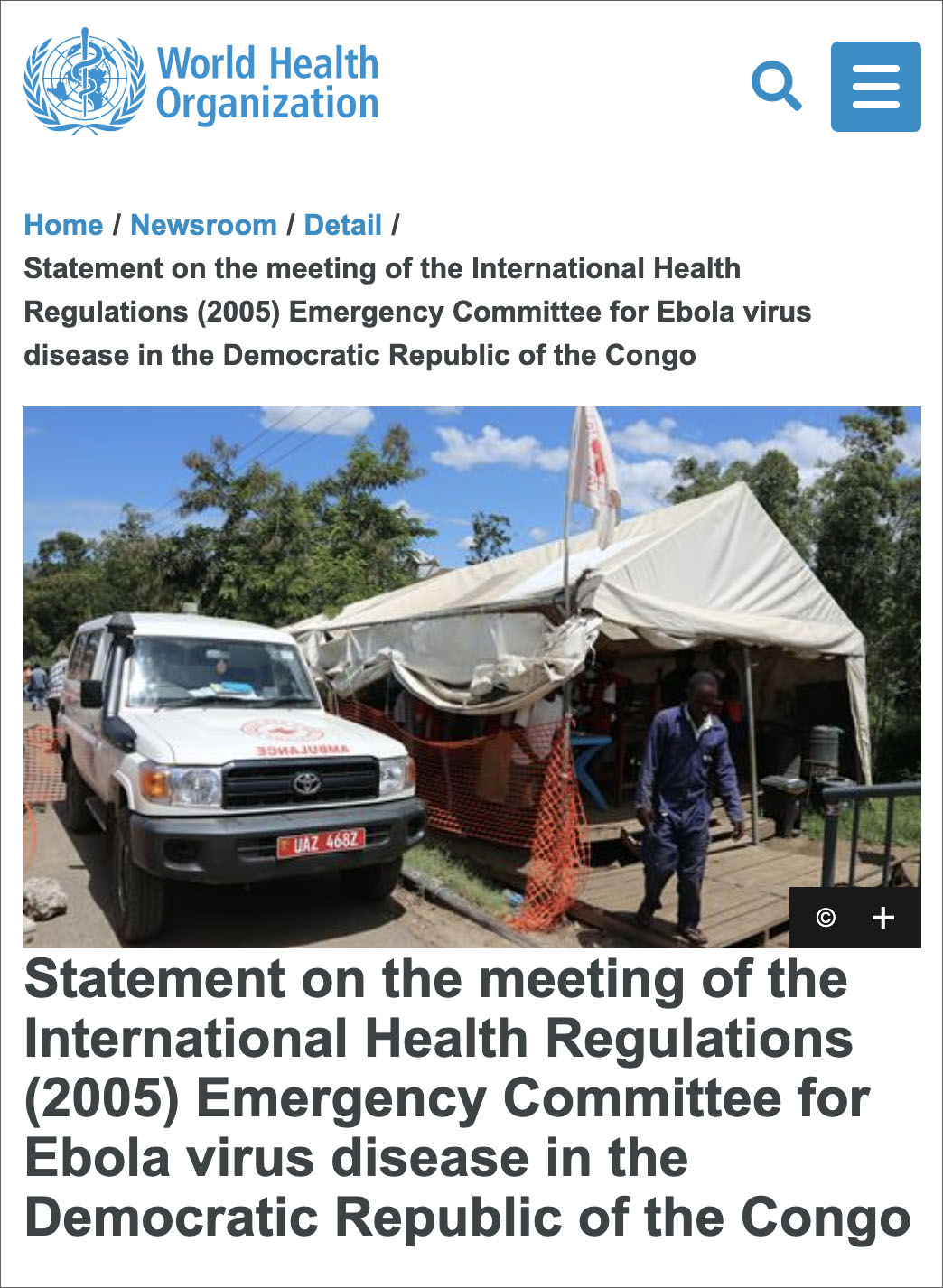 WHO Refuses To Declare Ebola Outbreak 'International Emergency' As At-Risk Migrants Pour Into Texas