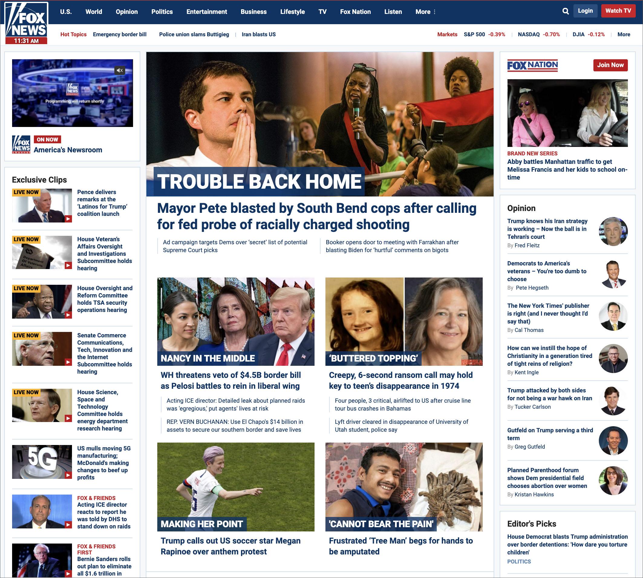 Fox News Advertisers List 2020.Fox News Still Not Covering Project Veritas Google Bombshell
