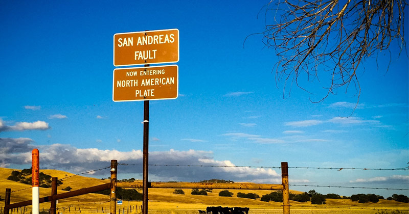 California's Nuclear Power Plants Built in Close Proximity to San Andreas Fault