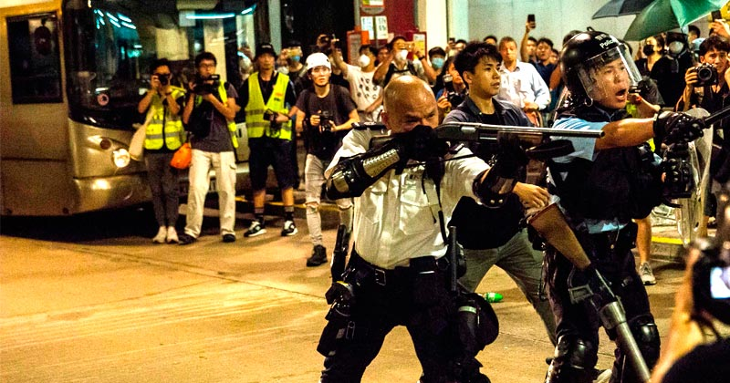 War Looms as China Prepares to Invade Hong Kong