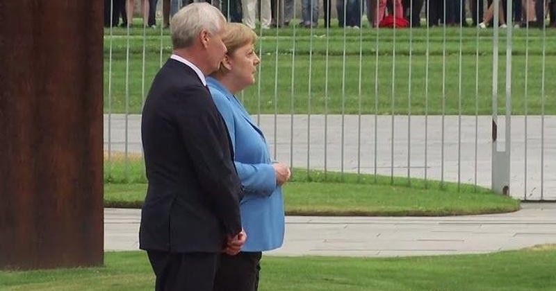 Merkel Seen Visibly Shaking on Camera For a Third Time