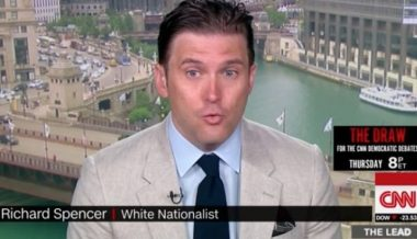 CNN Gives a Platform to Alt-Right White Supremacist Richard Spencer