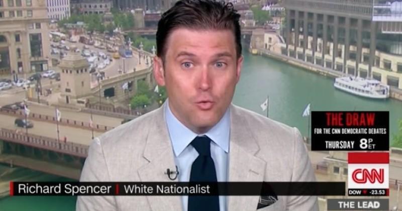 CNN Gives a Platform to Alt-Right White Supremacist Richard Spencer
