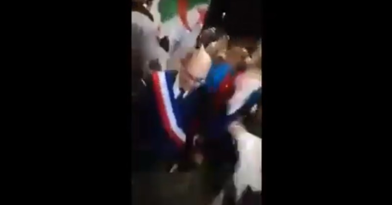 "Video: Socialist French Mayor Dances Awkwardly With Algerian Soccer Fans Chanting ""Allahu Akbar"""