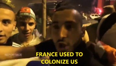 "Algerian Soccer Fans: ""France Used to Colonize Us, But Today We Colonize Them"""
