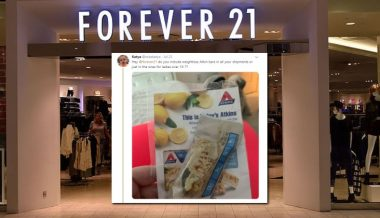 Plus-Size Women Outraged Over Forever 21 Giving Them a Free Diet Bar With Their Order