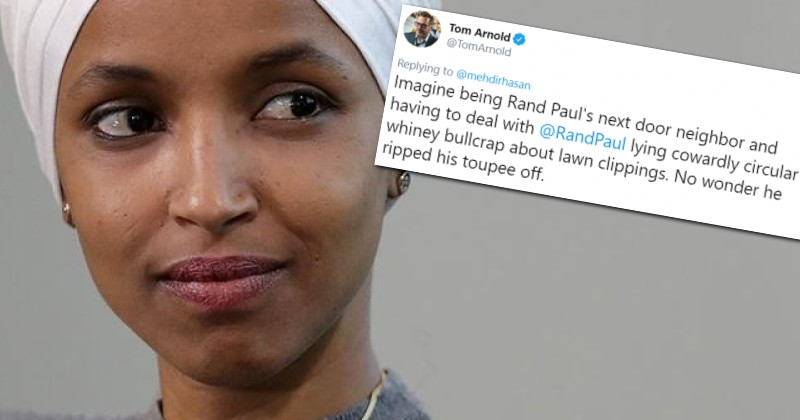 Ilhan Omar Retweets Violent 'Joke' Aimed at Senator Rand Paul