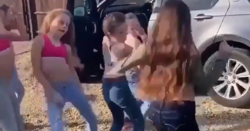 Gross: Viral Video of Young Girls Dancing Suggestively to Rap Music Slammed