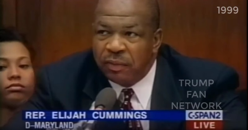 "Racist? Elijah Cummings Once Called Baltimore ""Infested"" Just Like Trump"