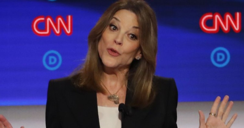 Oddball Marianne Williamson Shines, Underscoring Weakness of Dem Candidates