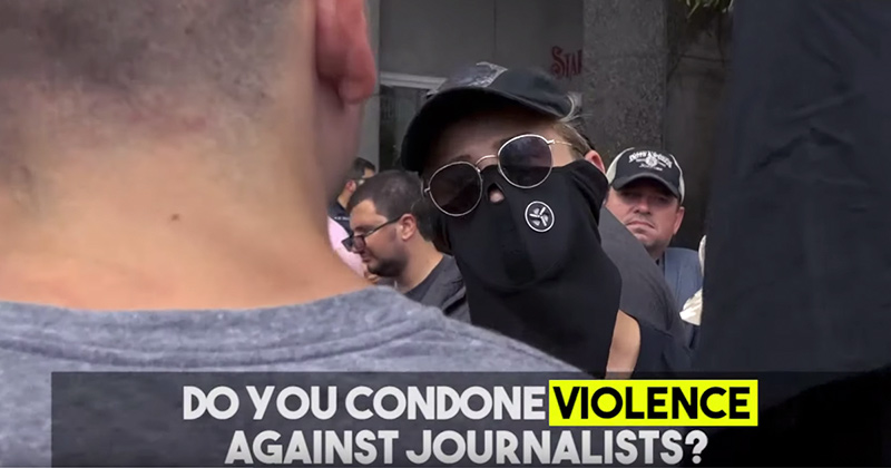 Watch Antifa Defend The Assault of Journalist Andy Ngo