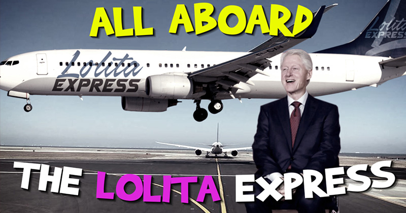 All Aboard The Lolita Express!