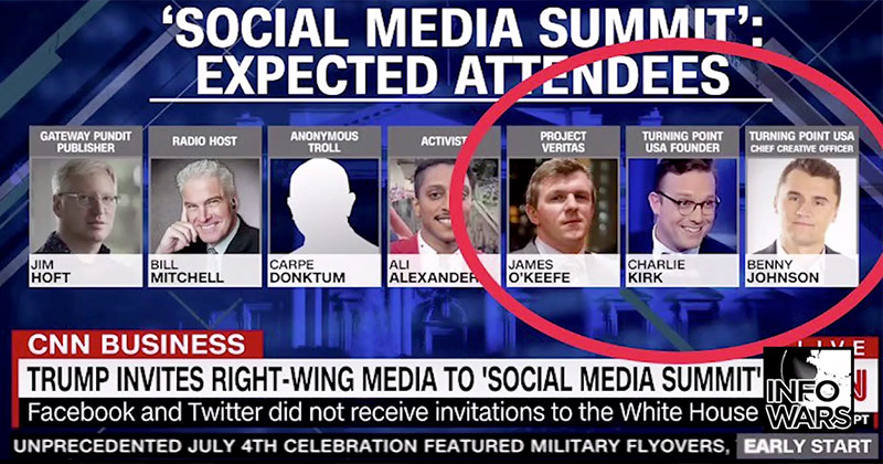 "CNN's ""Social Media Summit"" Graphic Full Of Misinformation"