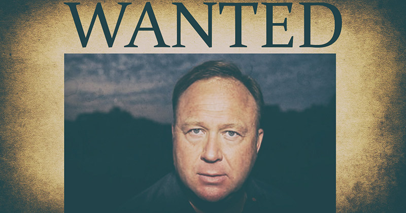 Infowars Wanted Dead Or Alive