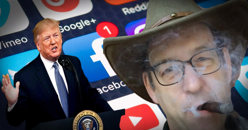 Ben Garrison: What I Would've Said to the President at Social Media Conference