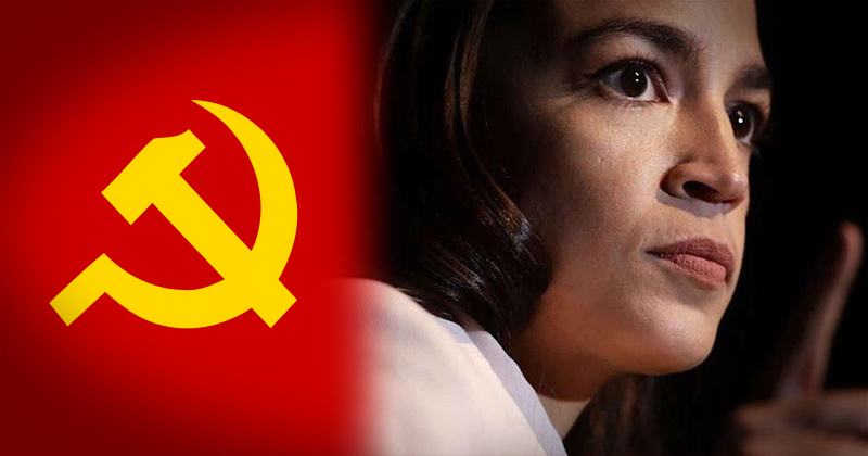 "AOC: Calling People ""Communists"" Associated With ""White Supremacy"""