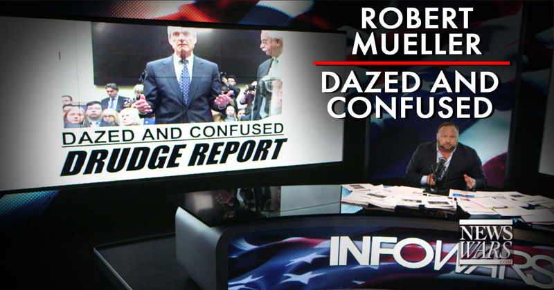 Watch: Best of Infowars' Mueller Testimony Coverage