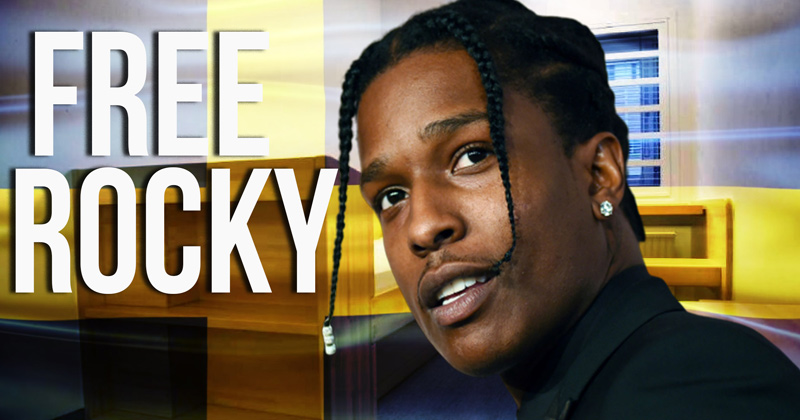 A$AP Rocky: Assange & Tommy Robinson Need Help ASAP