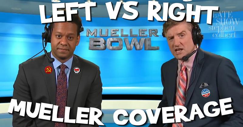 Left VS Right Coverage of Mueller's Testimony