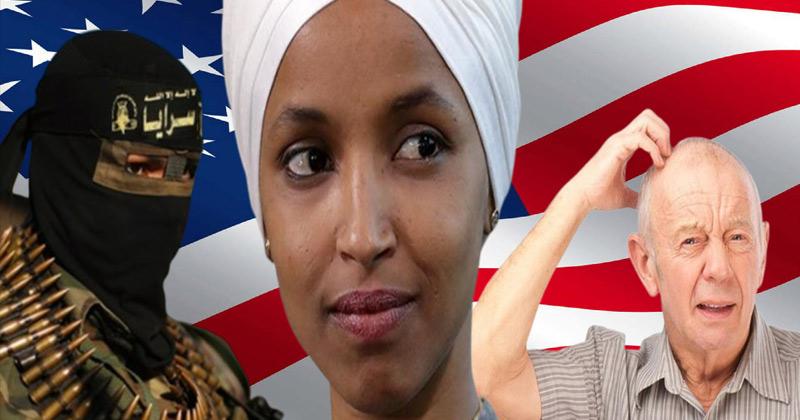 Ilhan: White Men More Dangerous Than Jihadi Terrorists