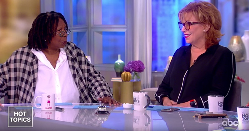 "The View's Joy Behar: ""Outrageous & Stupid to Call Black Person Racist"""