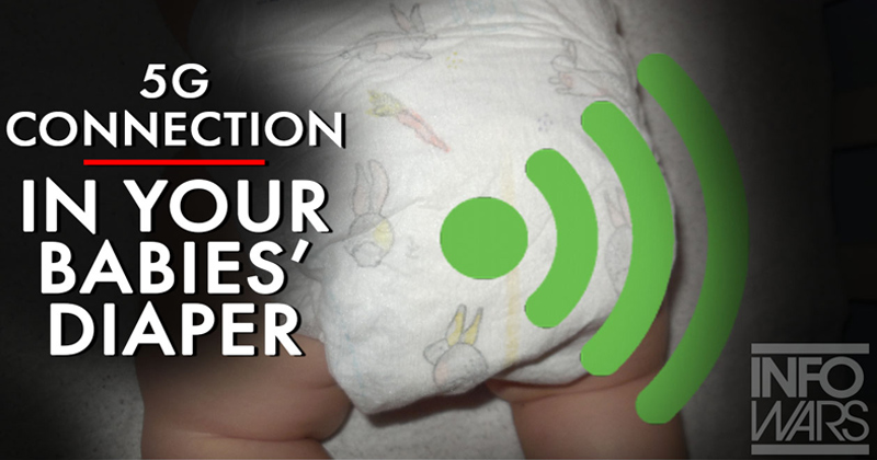 5G Implanted In Baby Diapers