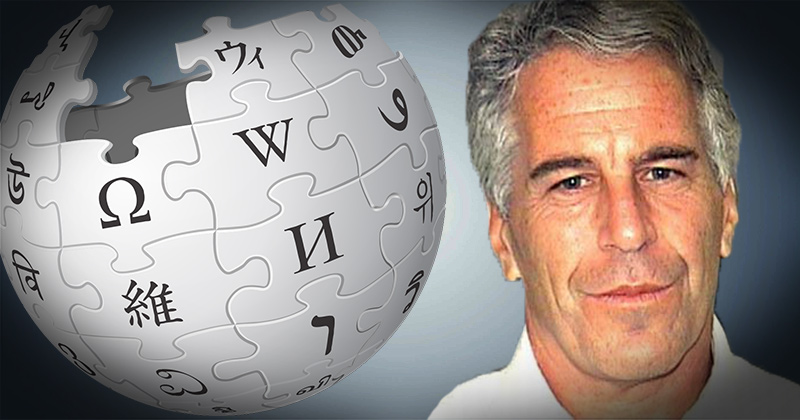 Cover-Up Begins: Epstein Wikipedia Page Removes Mention of Dems, Leaves Trump Link