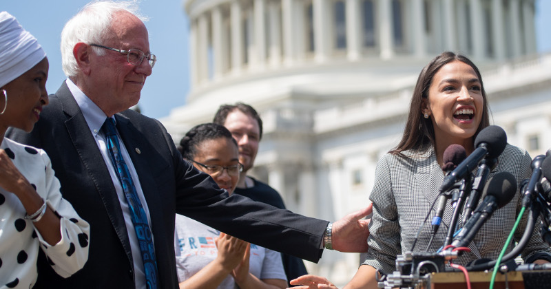 AOC, Sanders Seeking Re-Do of Failed 'Green New Deal'