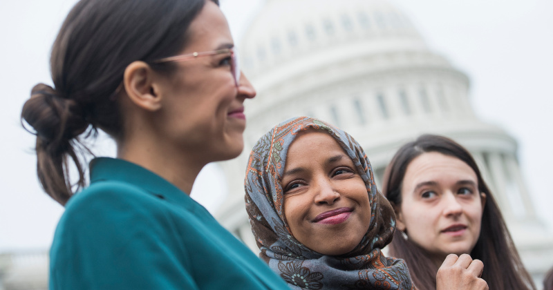 AOC, Ilhan Omar Hit Back at Pelosi Over 'Twitter World' Comments