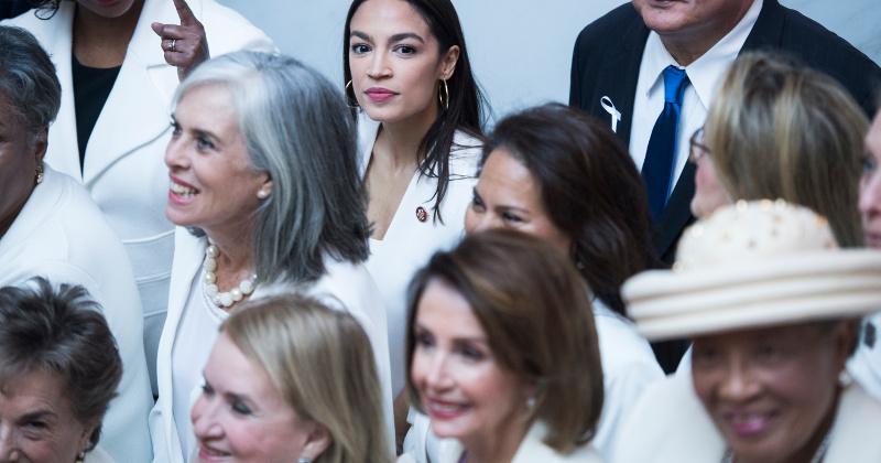 AOC, Pelosi to Address House Dem Infighting