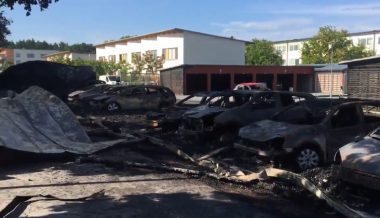 Cars Set Ablaze, Blown Up Across Sweden