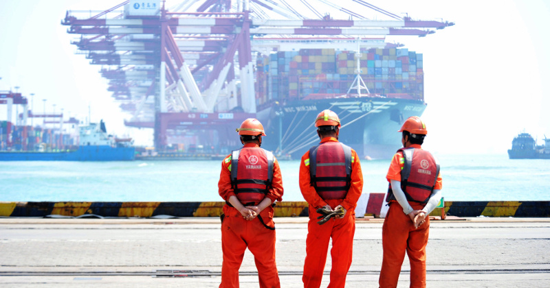 China Posts Lowest Quarterly Growth in 27 Years