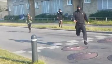 Watch: Police Thwart Rush Against Danish Politician in Migrant Neighborhood