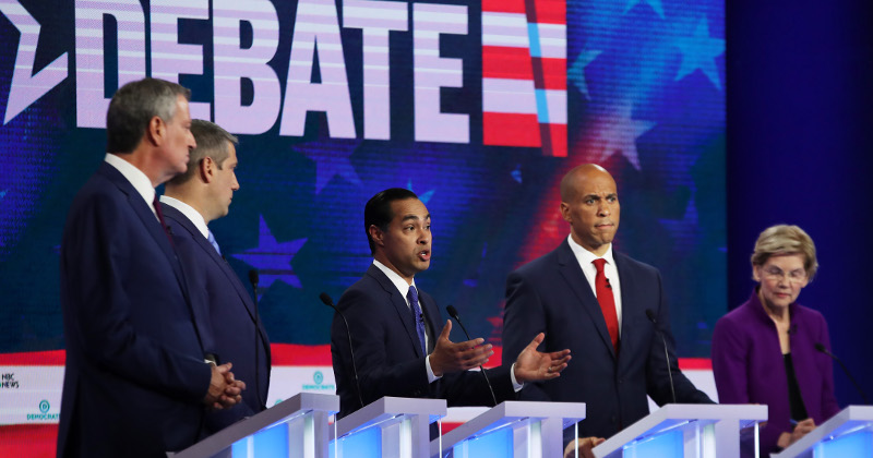 Biden's Support From Black Voters Cut in Half After Debate
