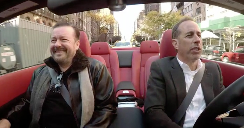 Watch: Seinfeld & Gervais Discuss Difficulty Of Being Comedians In Snowflake Society