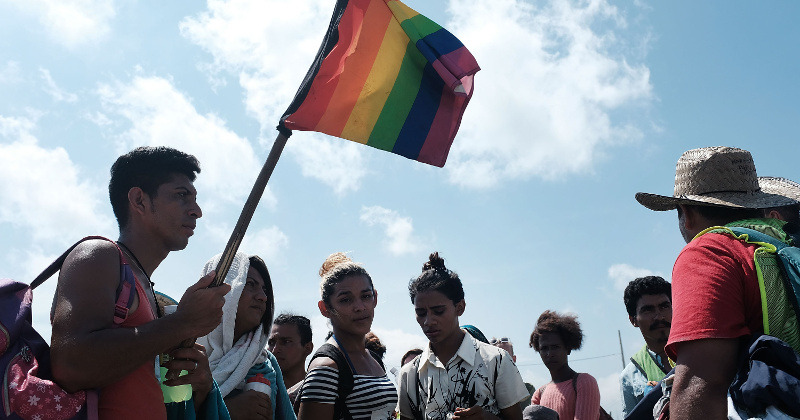 LGBT Migrants Exempt From 'Remain in Mexico' Policy, Can Stay in US