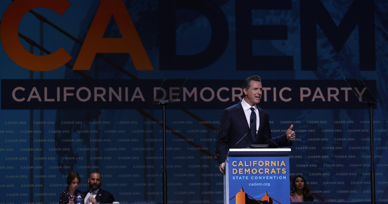 Gavin Newsom Opens $50 million Donor Network to Kamala Harris