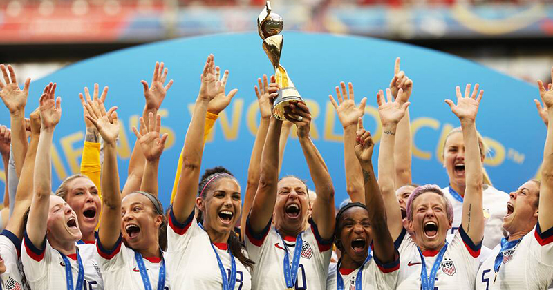 French Press Criticises U.S. Women's Soccer Team for Being 'Mostly White'