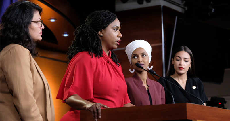 "Rhetoric From ""The Squad"" Promotes Left Wing Terror"