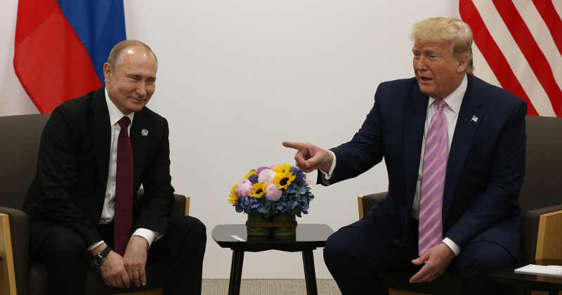 Buchanan: Is Putin Right? Has Liberalism Lost the World?